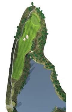 Golf Club hole 10 map