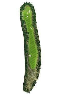 Golf Club hole 11 map