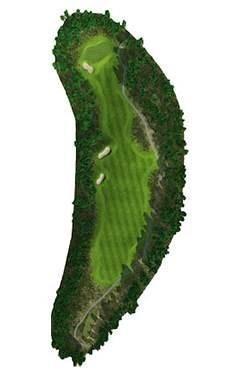 Golf Club hole 12 map