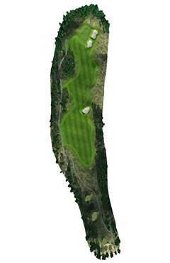 Golf Club hole 15 map