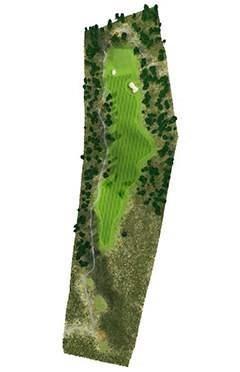 Golf Club hole 2 map