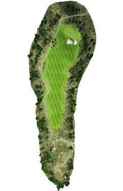Golf Club hole 3 map