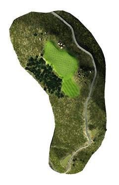 Golf Club hole 4 map