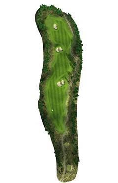 Golf Club hole 5 map