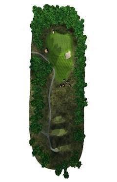 Golf Club hole 7 map