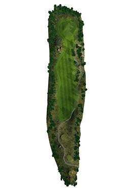 Golf Club hole 8 map