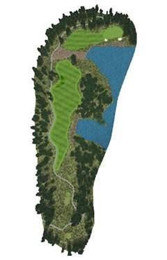Golf Club hole 9 map