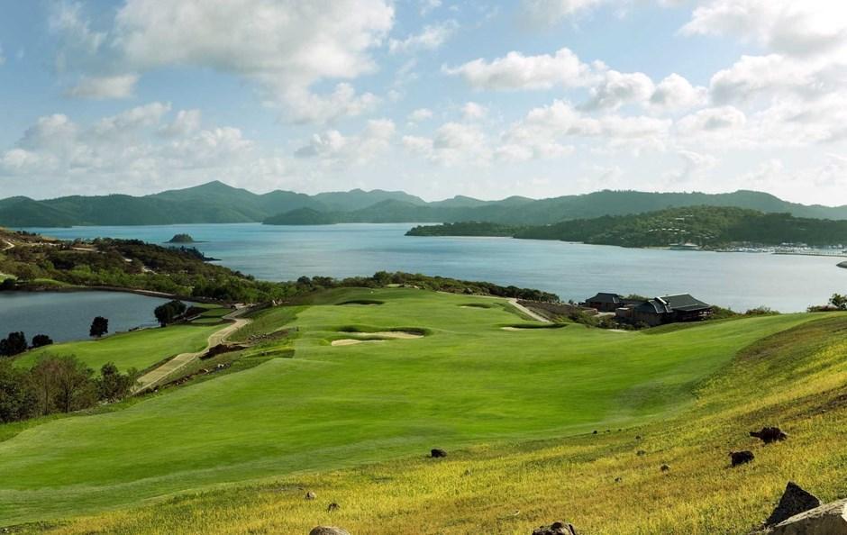 Hole 18 - Hamilton Island Golf Club