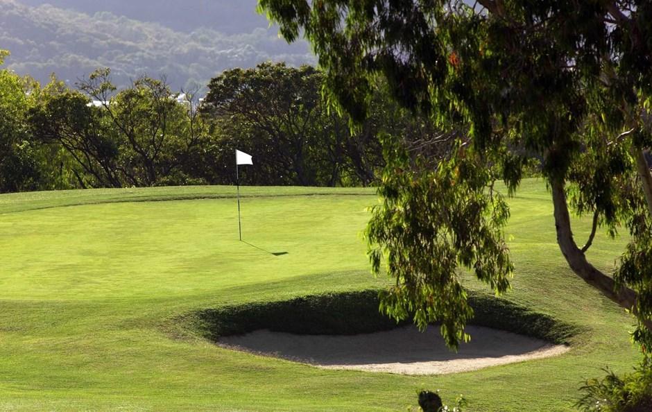 Hole 9 - Hamilton Island Golf Club