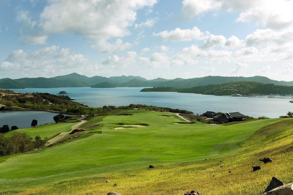 Hole 18 - Hamilton Island Golf Club