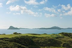 Golf Course Hole 15 Dent Island - Hamilton Island golf holidays
