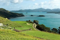 Golf Course Hole 16 Dent Island - Hamilton Island golf holidays