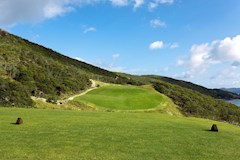 Golf Course Hole 17 Dent Island - Hamilton Island golf holidays