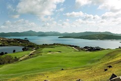 Golf Course Hole 18 Dent Island - Hamilton Island golf holidays