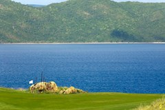 Golf Course Hole 4 Dent Island - Hamilton Island golf holidays
