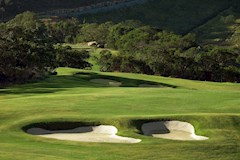 Golf Course Hole 5 Dent Island - Hamilton Island golf holidays